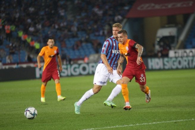Trabzon'da 4 gol var kazanan yok